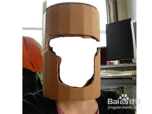 兒童簡單紙板盔甲方法?