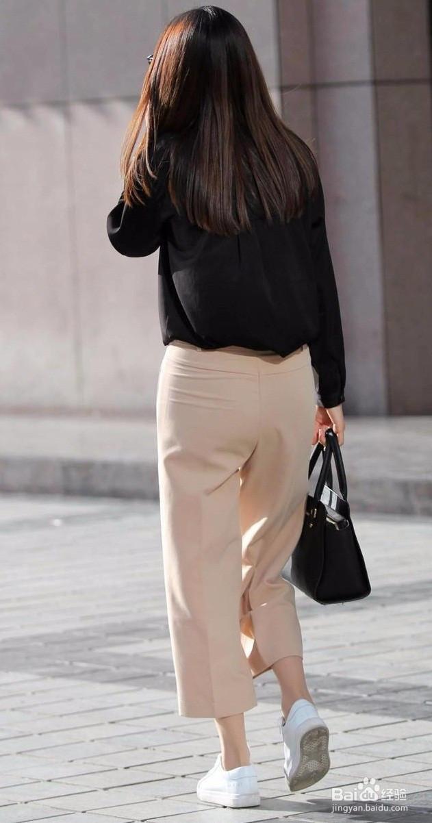 纯黑上衣怎么搭配裤子