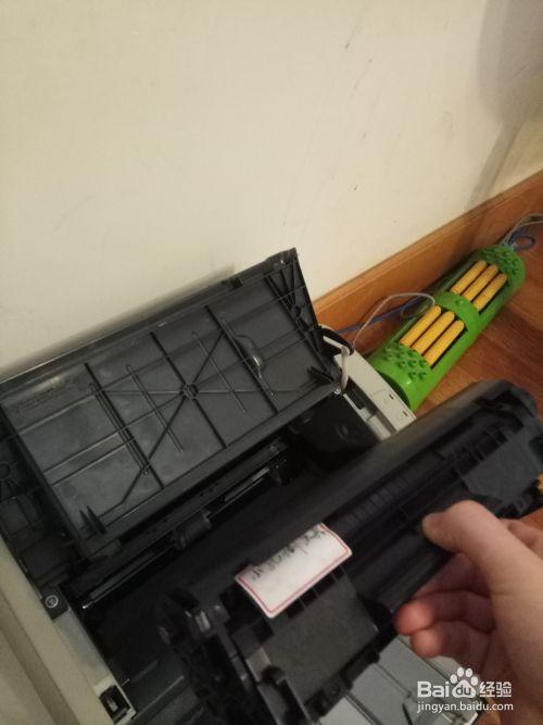 怎么给打印机加碳粉