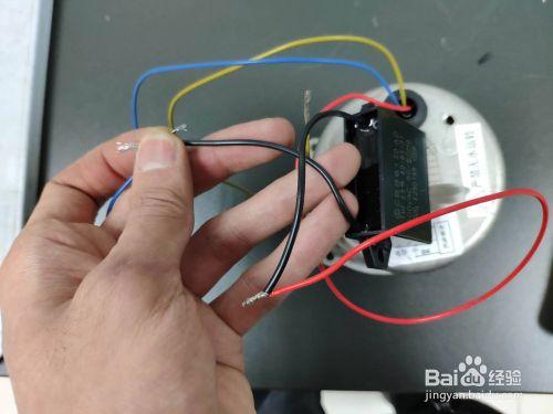 单相电机电容怎么连接
