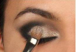 欧式眼妆画法分解图图片