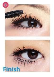 单眼皮眼妆的画法步骤图片图片
