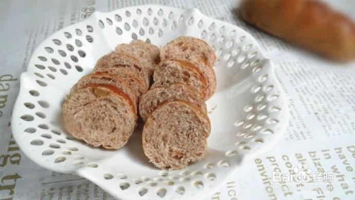 核桃小面包的做法