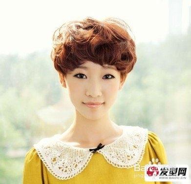 女大童短发发型扎法图片