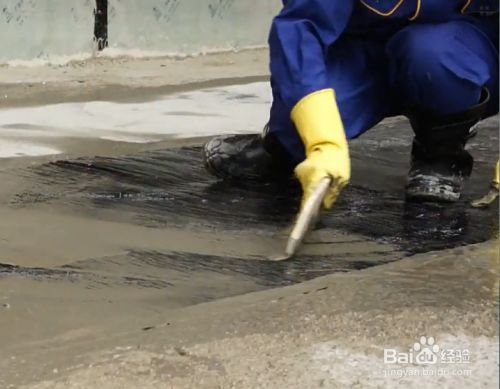 JXK SEP-2000交联反应型自粘防水卷材施工步骤