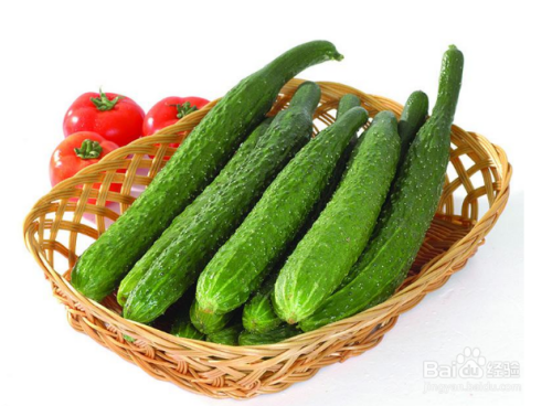 生吃黄瓜有什么好处图片