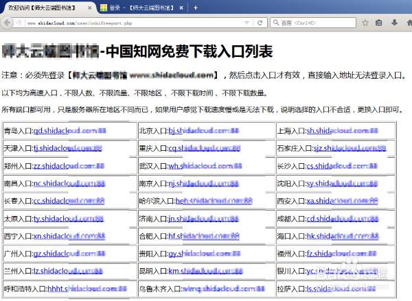 用CNKI中国知网免费入口整本下载论文范...