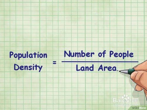 人口 密度 計算