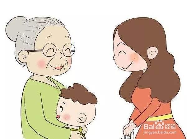 怎么对待不帮忙带孩子的婆婆