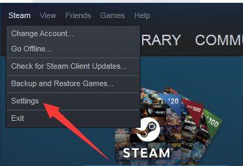 steam变成英文了怎么办