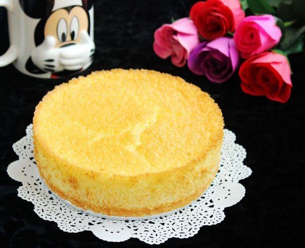 无油低糖海绵蛋糕