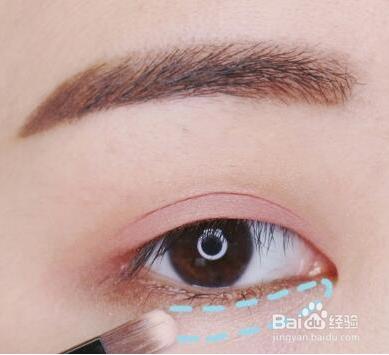 化眼妆教程图片