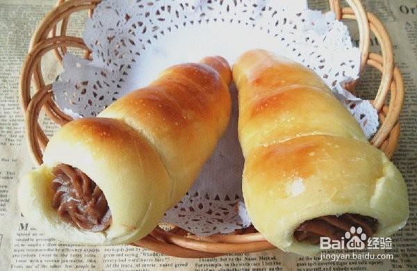 可可螺旋面包的做法