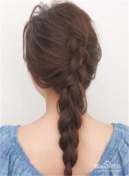 长发发型扎法100种图片图片