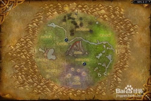 魔兽世界怀旧服哪里银矿多图片