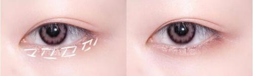 眼妆的画法步骤图片
