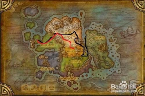 魔兽世界螳螂高原在哪图片