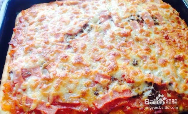 香肠披萨的做法