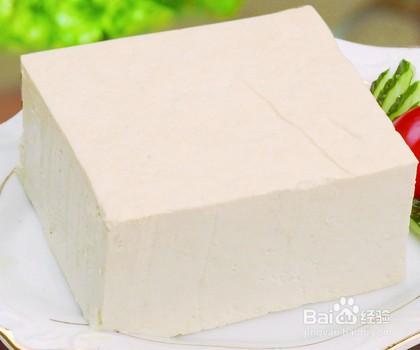 豆腐清炒油菜