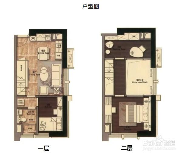 54㎡公寓怎么做三房