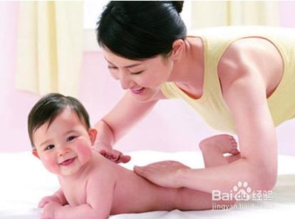 婴儿抚触流程图片