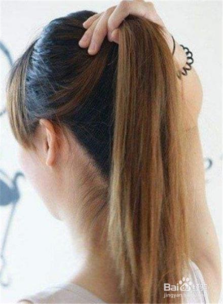 长发怎么扎简单好看图片
