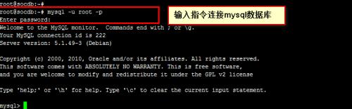 linux创建数据库命令