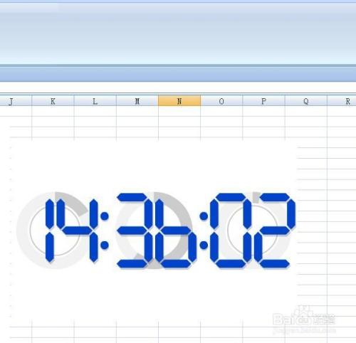 EXCEL技巧——如何用EXCEL插入flash鐘表/時間