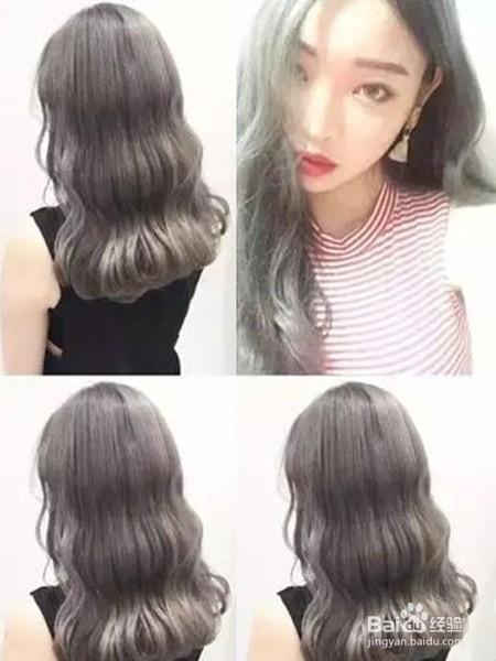 中长发烫发发型图片图片