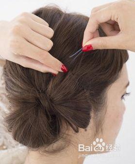 中年气质盘发发型图片图片