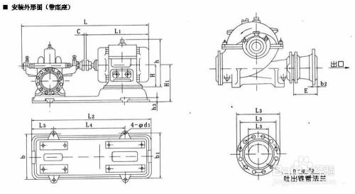 sh型中开泵选型和工作原理