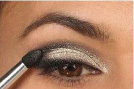中国人画印度眼妆画法图片