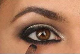 亚洲人欧式眼妆画法图片