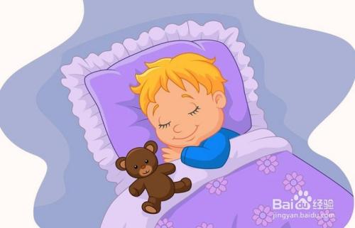 小儿失眠图片