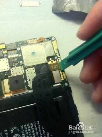 诺基亚5250拆机步骤_诺基亚Lumia1520更换电池DIY拆机方法-百度经验