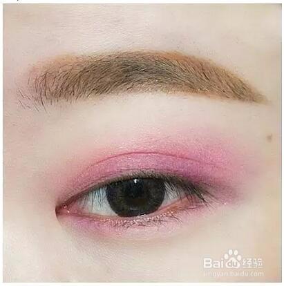 适合画桃花妆的眼影盘图片