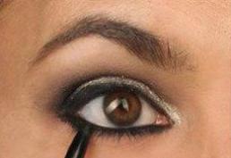 亚洲欧式眼妆画法教程图片