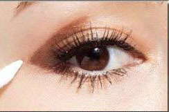 眼睛怎么化妆好看图解法图片