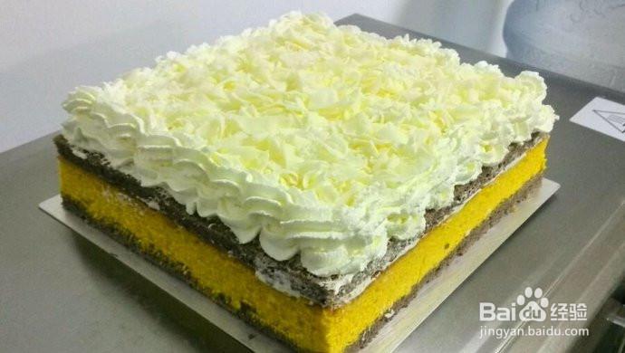 雪域牛乳芝士蛋糕的做法