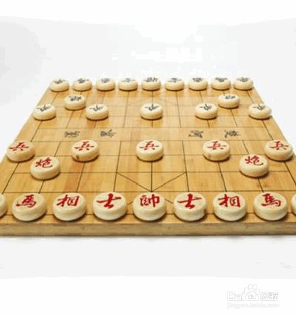 象棋开局布阵法