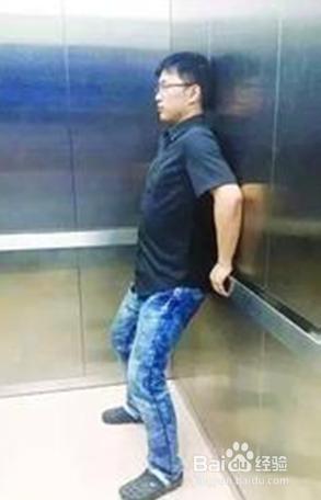 遇到电梯事故时下列说法错误的是哪一个图片