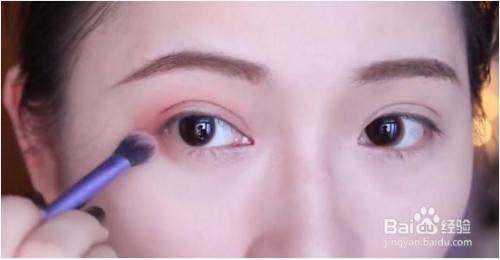 眼妆画法图片