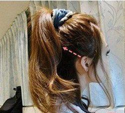 短发编发发型扎法图解图片