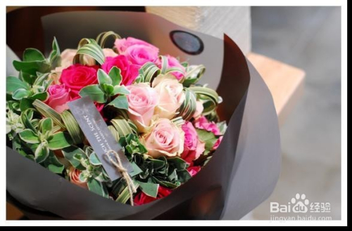 玫瑰花的最佳搭配图片