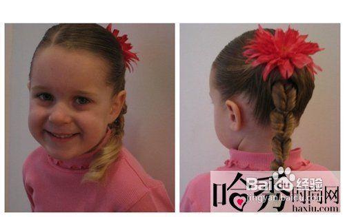 儿童短发编发教程图解步骤图片