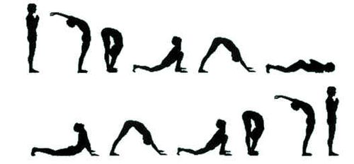 瑜伽拜日式怎么做