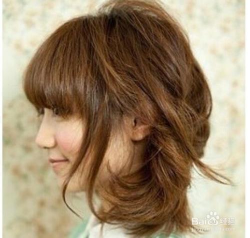 齐肩梨花头发型图片图片