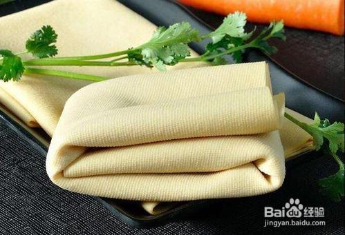 冻干豆腐炒香菜