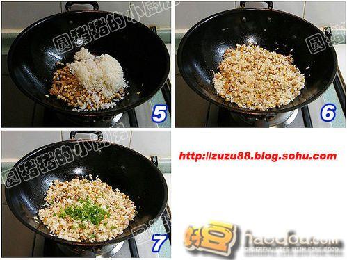 豆干饭图片