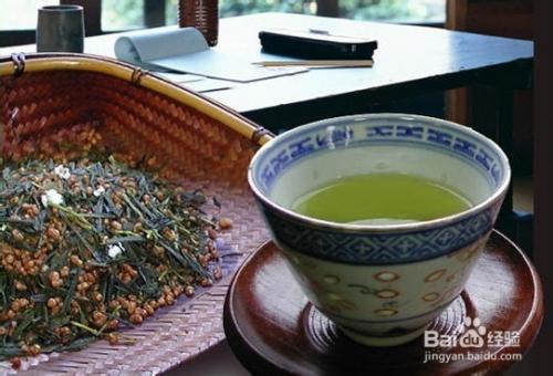 玄米茶的喝法图片